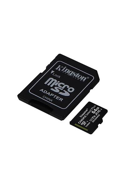 Kingston 64GB Micro SDHC Canvas 100MB/s SDCS2/64GB