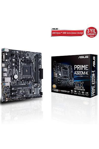 Asus A320M-K/Csm Prime AM4 Ryzen DDR4 Hdmi Usb3.1