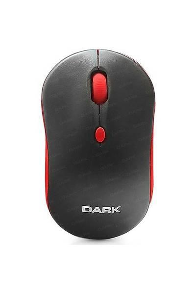Dark DK-AC-MSW100R Kablosuz Krmz-Siyah K.suz Mouse