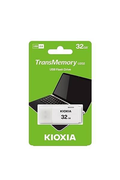 Kioxia 32GB Usb 2.0 U202 Beyaz LU202W032GG4
