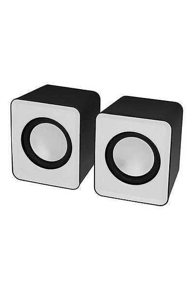 Frisby FS-334U 2.0 Hoparlör Sistemi (USB) Beyaz