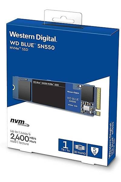 WD 1TB Blue SN550 NVMe 2400/1950 WDS100T2B0C