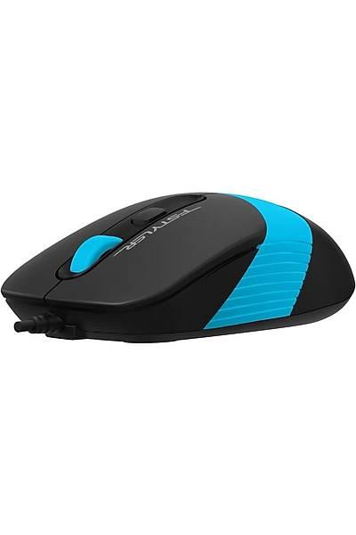 A4-Tech FM10 USB Mavi Optik Mouse 1600 Dpi