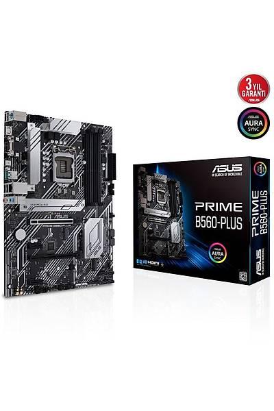 Asus Prime B560-Plus 1200P Vga Hdmi Dp