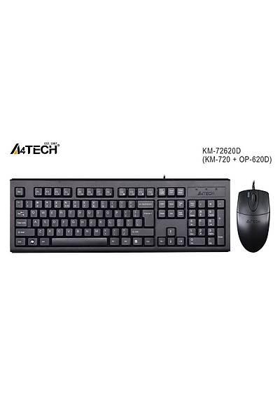 A4-Tech KM-72620D Q Klavye Mouse Set USB / MM