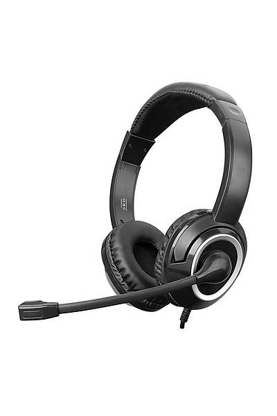 Snopy SN-X4 Siyah Mikrofonlu Kulaklýk