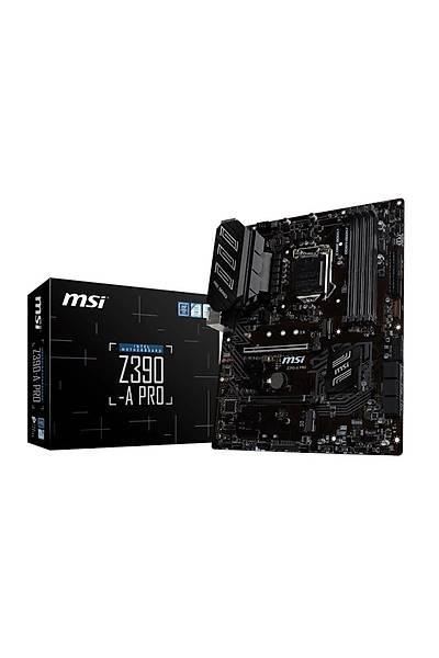 MSI Z390-A Pro 1151 DDR4 Vga Dvi Dp Usb3.1