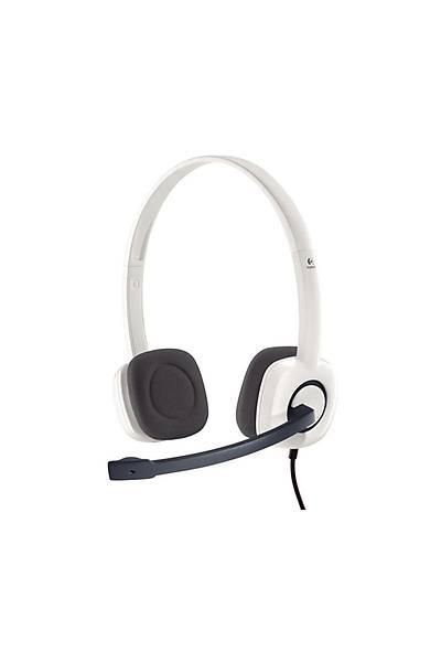 Logitech H150 Kablolu Kulaklýk Beyaz 981-000350