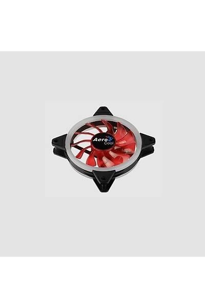 Aerocool AE-CFRVRD 12cm Kýrmýzý Ledli Fan