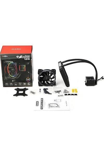 Dark DKCCW126 AquaForce W126 120mmRGB Sývý Soðtma