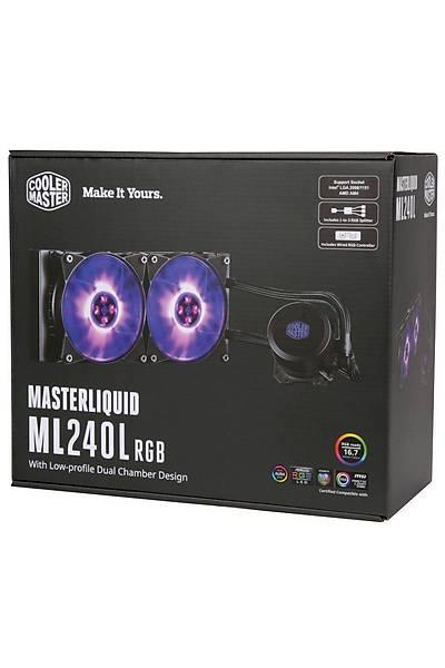 Cooler Master ML240L RGB Led Fanlý Ýþlemci Sývý So