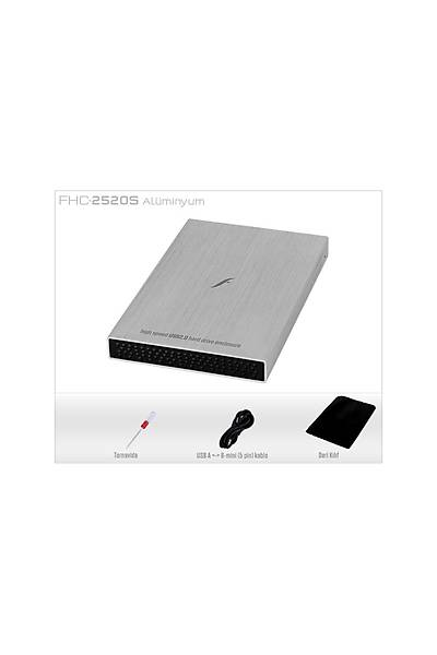 "Frisby FHC-2520S 2.5"" SATA USB 2.0 Harici Kutu"