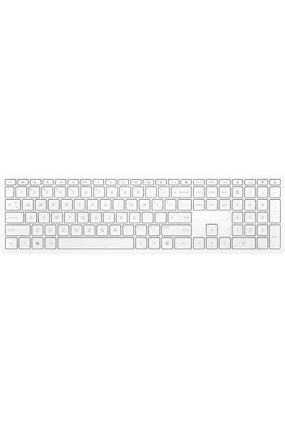 HP Pavilion 600 Kablosuz Klavye Beyaz (4CF02AA)