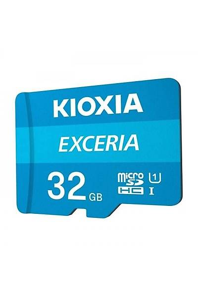Kioxia 32GB Micro SDHC C10 100MB/sn LMEX1L032GG2