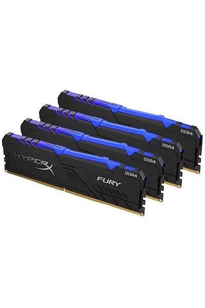 Kingston 128G 4x32 HpX 3600 RGB HX436C18FB3AK4/128