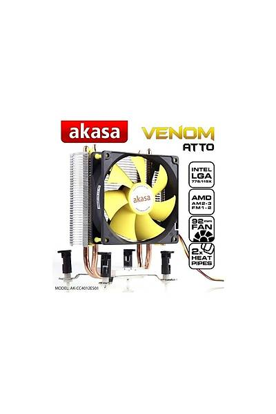 Akasa Venom Atto Intel 775/1155/1156/1150/1151 AM2