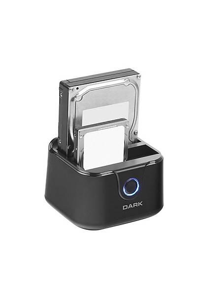 Dark DK-AC-DSD24C USB3.0 2li Disk Ýstasyonu