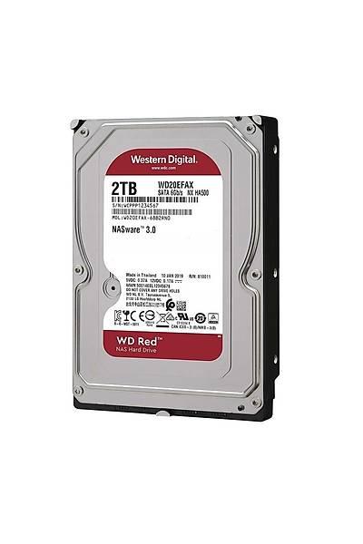 "WD 2TB Red 3.5"" 256MB Sata6 5400Rpm WD20EFAX"