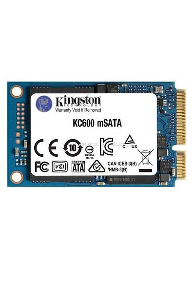 Kingston 512GB KC600 mSATA 550/500MB SKC600MS/512G