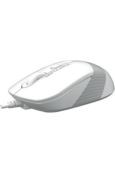 A4-Tech FM10 USB Beyaz Optik Mouse 1600 Dpi