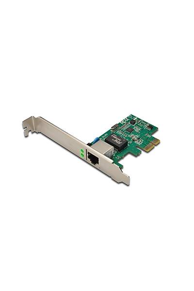 Digitus DN-10130 Pcý-e 10/100/1000 Ethernet Kartý