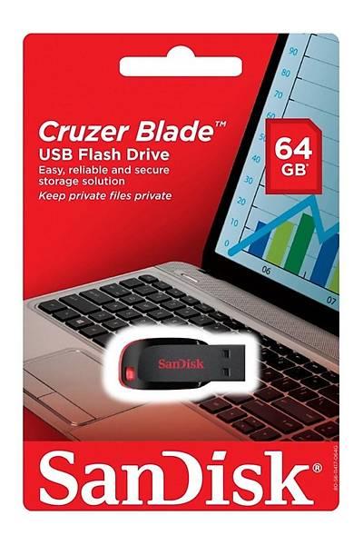 Sandisk 64GB Cruzer Blade Usb 2.0 SDCZ50-064G-B35