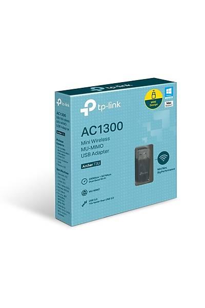 Tp-Link Archer T3U 1300Mbps Dualband USB Adaptör
