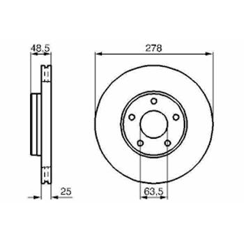 S40/V50/C30/C70 Disk Ön 15 ÝNÇ