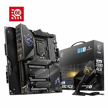 MSI MEG Z590 ACE 5600MHz(OC) DDR4 Soket 1200 M.2 DP ATX Anakart