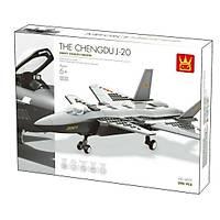 Wange Lego 290 Parça J20 Firefang Stealth Fighter - Savaþ Uçaðý 4003