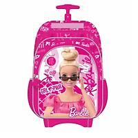 Frocx Lisanslý Barbie Çekcekli Ýlkokul Çantasý Check Girl Power Otto-5655