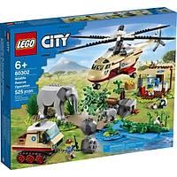 LEGO® City Vahþi Hayvan Kurtarma Operasyonu 60302 (525 Parça)