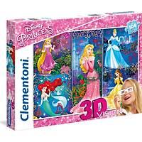 Clementoni 104 Parça Puzzle 3 Boyutlu (3D) Princes
