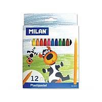 Milan Pastel Boya Kalemi 12'Li Plastipastel
