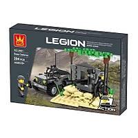Wange Lego 204 Parça Temel Savunma Üssü 2661