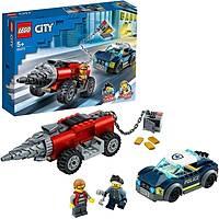 LEGO City 60273 Elite Police Driller Chase
