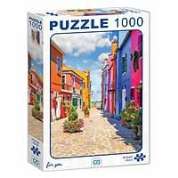 Ca Games Burano Adasý Puzzle 1000 Parça 7007