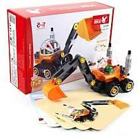 Wange Lego 38 Parça Dubie Ýþ Araçlarý 5Ýn1 431  (+5 Kart)