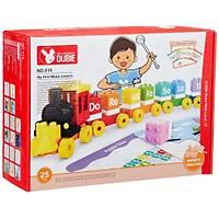 Wange Lego 25 Parça Dubie Müzik Treni 414 (+6 Kart)