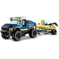 Lego City 60272 Elite Police Boat Transport