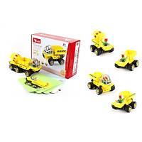 Wange Lego 38 Parça Dubie Ýnþaat Araçlarý 5Ýn1 433 (+5 Kart)