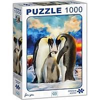 Ca Games Penguen Ailesi Puzzle 1000 Parça