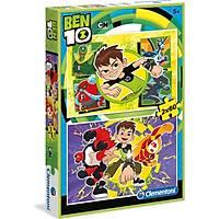 Clementoni 2X60 Parça Puzzle Ben 10 S.C.