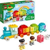 LEGO LEGO® Duplo® Ýlk Sayý Treni - Saymayý Öðren 10954 Yapým Oyuncaðý; Küçük Çocuklarý Sayýlar ve Sayma ile Tanýþtýrýn (23 Parça)
