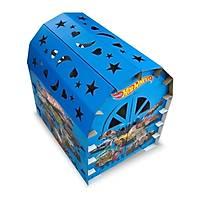 Origamitoybox Hot Wheels 16 Parça Karton Oyun Evi