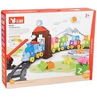 Wange Lego 71 Parça Dubie Alfabetik Tren 612 (+26 Kart)