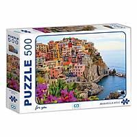 Ca Games Manarola Köyü Puzzle 500 Parça