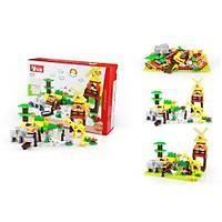 Wange Lego 77 Parça Dubie Hayvanat Bahçesi  & 17X24 Tepsi 540