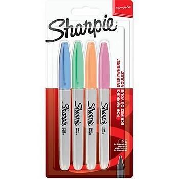 SharpieFine Permanent 4lü Pastel Markör