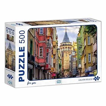Ca Games Galata Kulesi Puzzle 500 Parça 7502